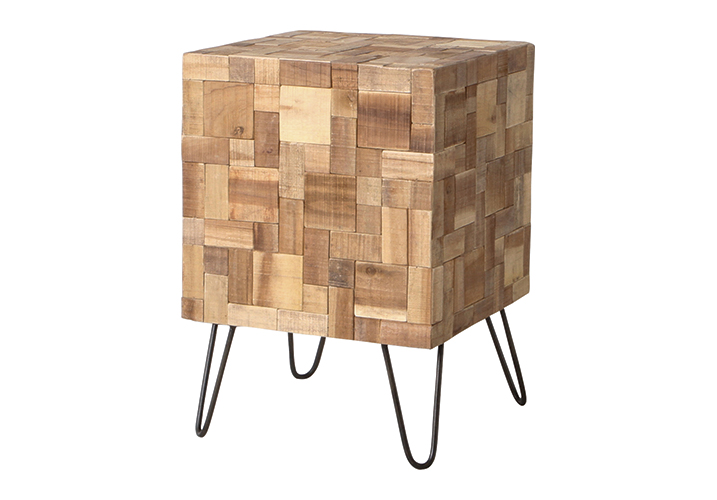 Image 0: Mosaic Side Table