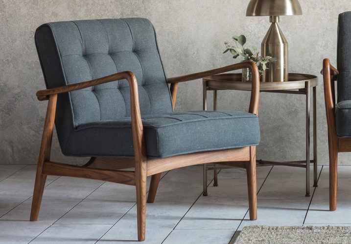 Image 1: Humber Armchair Grey