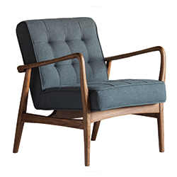 Image: Humber Armchair Grey