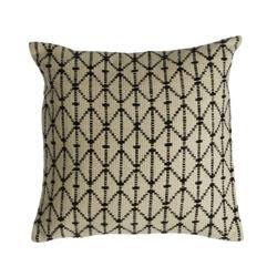 Image: Bos Woven Split Diamond Cushion