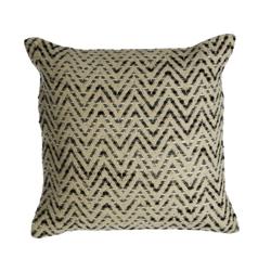 Image: Bos Woven Chevron Natural Cushion