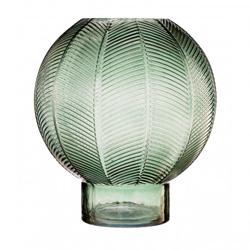 Image: Fern Green Glass Vase Large