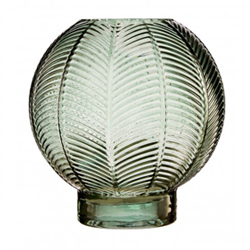Image: Fern Green Glass Vase Small