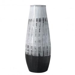 Image: Ansel Vase Black & White Large