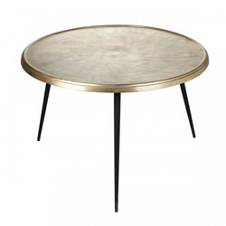 Image: Selena Table Champagne Gold