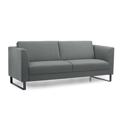 Image: Cleo Dark Grey 2 Seater