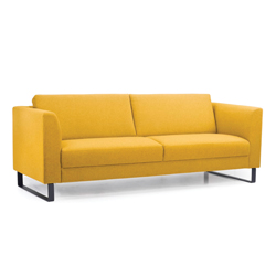 Image: Cleo Yellow 3 Seater