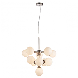 Image: Oscar 11 Pendant Light Nickel