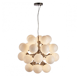 Image: Oscar 28 Pendant Light Nickel