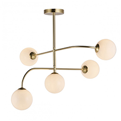 Image: Otto 5 Ceiling Light