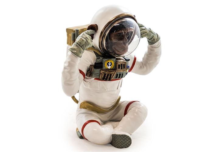 Image: Astronaut Chimp Ornament