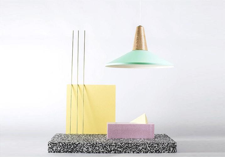 Image 4: Eider Shell Pendant Light Green