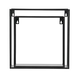 Image: Merta Cube Wall Shelf Set Of 2