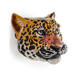 Image: Lilly The Leopard Wall Vase