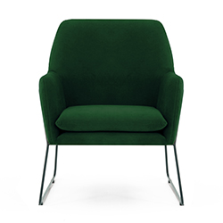 Image: Adams Arm Chair Green