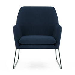 Image: Adams Arm Chair Navy