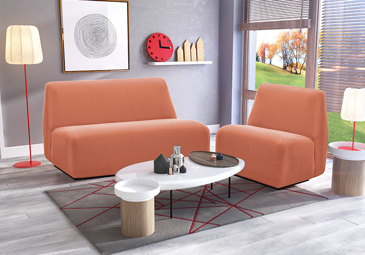 Image 5: Nuno 2 Seater Pink