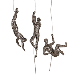 Image: Abseiling Antique Copper
