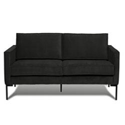 Image: Bratt 3 Seater Black