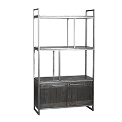 Image: Tate Charcoal Bookcase