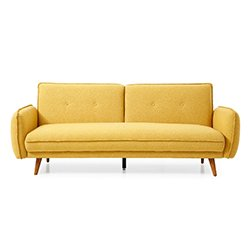 Image: Cole Sofa Bed Mustard