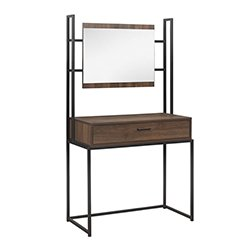 Image: Cali Desk With Mirror