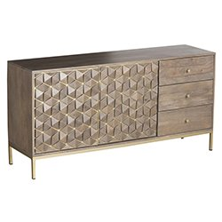 Image: El 3 Drawer Sideboard