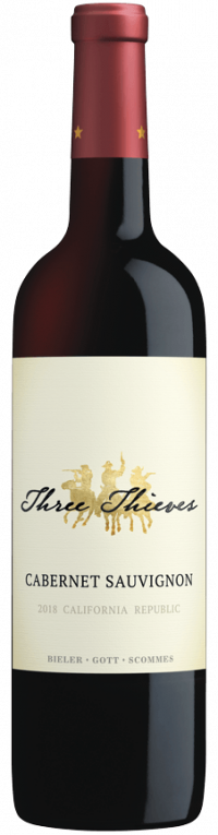 Image 0: Three Thieves Cabernet Sauvignon