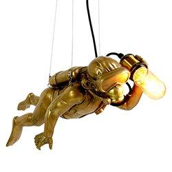Image: Danny The Scuba Monkey Hanging Light