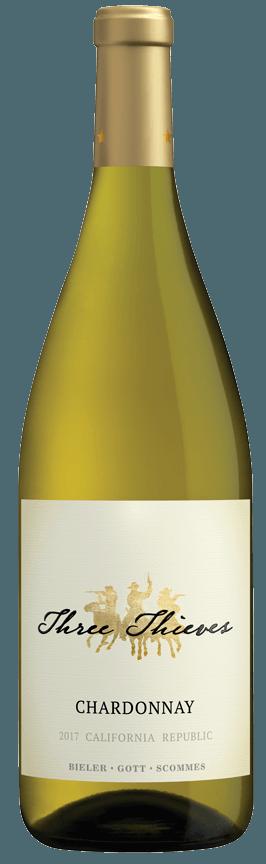 Image 0: Three Thieves Chardonnay