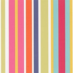 Image: Jelly Tot Stripe Poppy Pistachio Tangerine