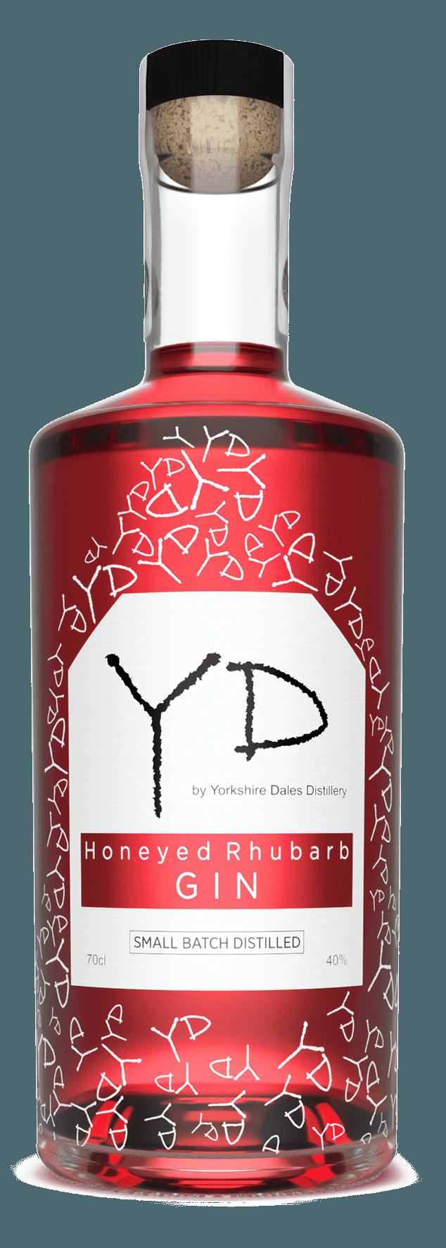 Image 0: Honeyed Rhubarb Gin