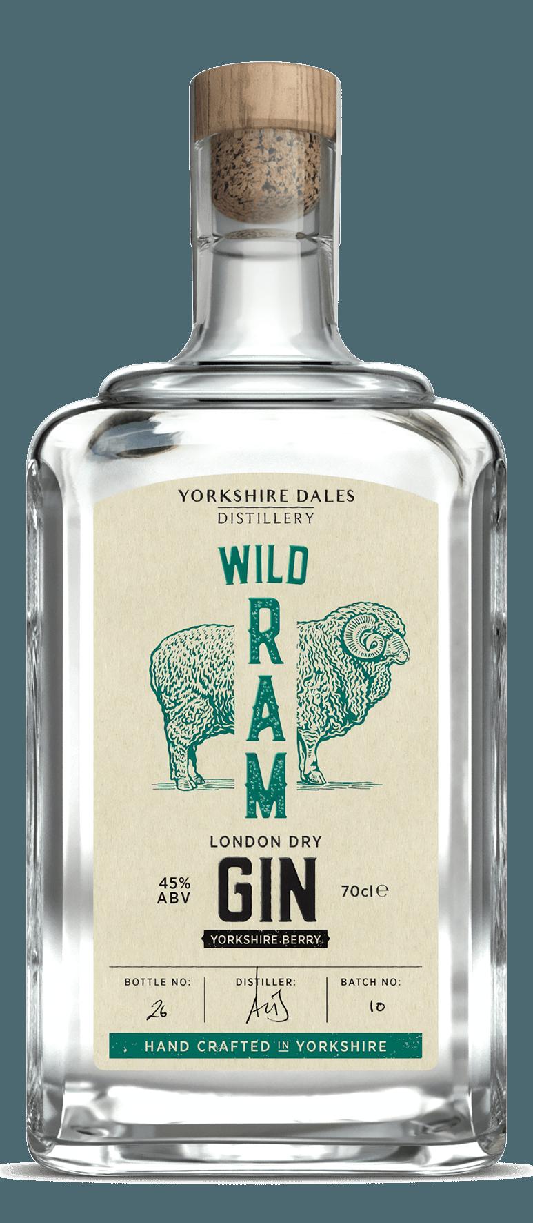 Image 0: Wild Ram Yorkshire Berry London Dry Gin