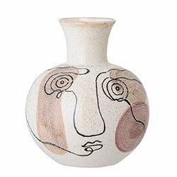 Image: Irini Vase White Stoneware