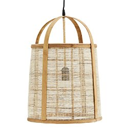 Image: Bamboo Caged Pendant