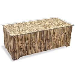 Image: Drift Rectangular wooden table